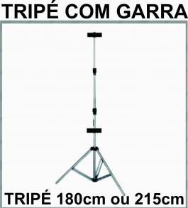 TRIPÉ P/BANNER DE de 180 cm altura Alumínio e conexões em Nylon de alta resistência.    sem garra, Produto de Excelente qualidade super leve e compacto